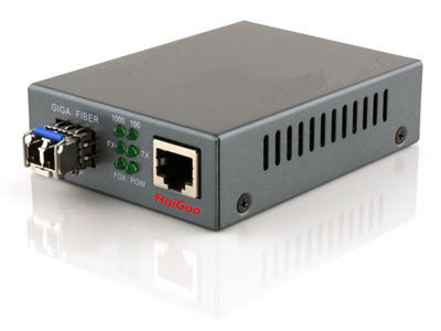 Single-mode Stand Alone Media Converter 10/100/1000mbps