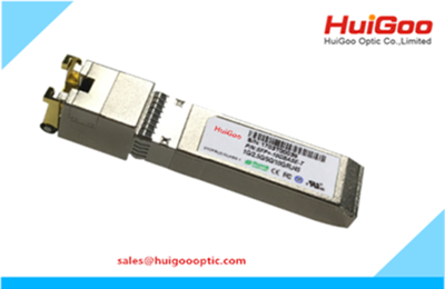 Industrial 10GBASE-T Copper SFP Transceiver