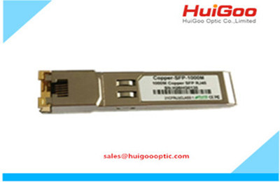 100BASE-T SFP Copper RJ-45 100m Transceiver