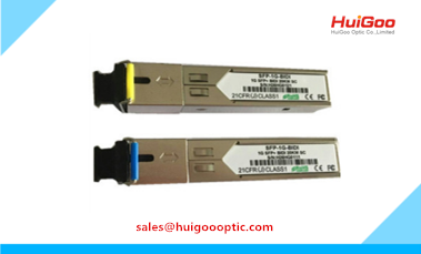 1.25G SFP Module 1000Base SFP BIDI DDM Single Fiber 120km Fiber Optical Transceiver